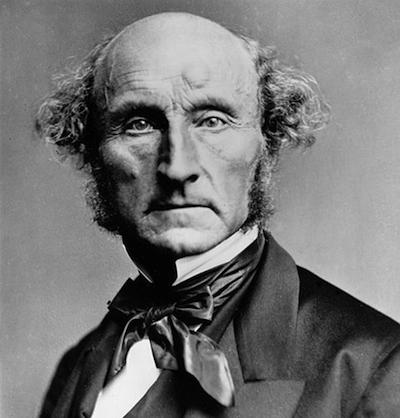 El Economista y filósofo británico John Stuart Mill.