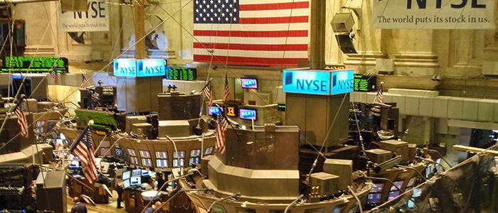 La Bolsa de Valores de Nueva York.