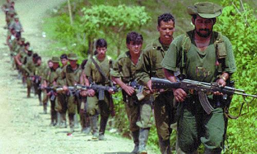 Las FARC han estado presentes en el departamento de Caquetá desde su formación en 1964.
