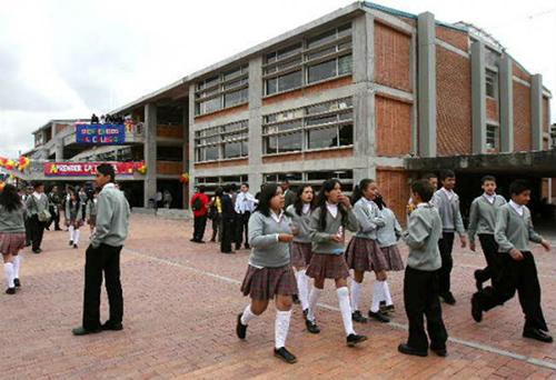 Colegio Distrital al sur de Bogotá