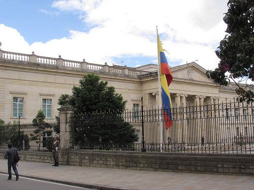Casa de Nariño en Bogotá.