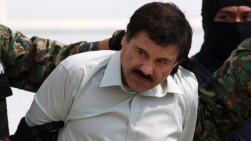 """El narcotraficante mexicano Joaquín """"El Chapo"""" Guzmán."""
