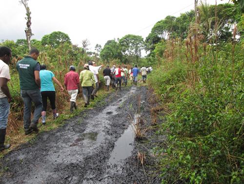 Habitantes de Putumayo afectados por atentado de las Farc contra camiones transportadores de crudo.