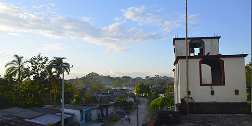 Inspección de El Tigre, en el departamento del Putumayo.