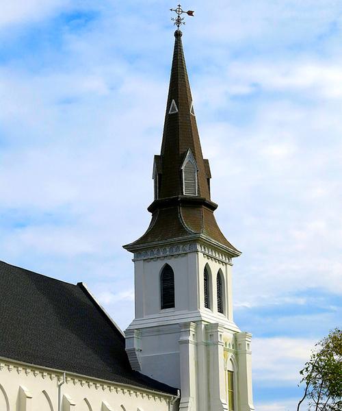 La Iglesia Episcopal Metodista Africana Emanuel en Charleston, Carolina del Sur.