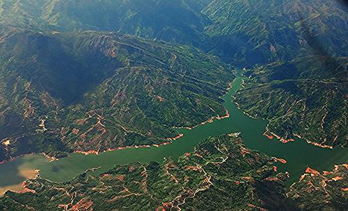 El río Magdalena en su paso por el departamento del Tolima.