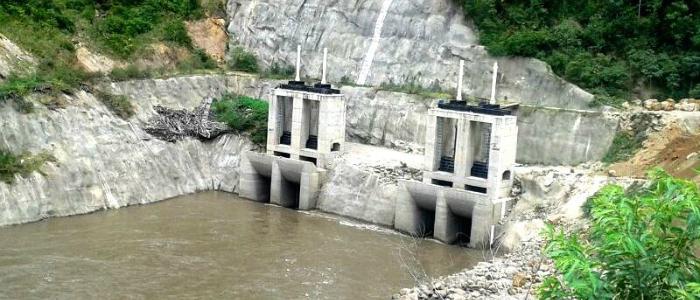 Hidroeléctrica de Sogamoso en Boyacá.