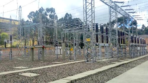 Subestación de energía en Pasto, Nariño.