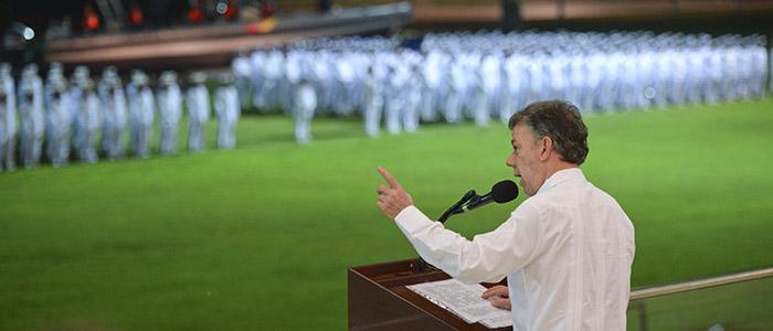 El Presidente Santos ordenó el pasado 25 de julio el cese a los bombardeos aéreos a los campamentos de las FARC