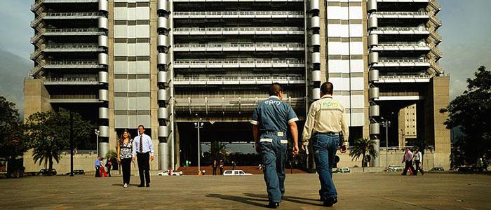 Edificio inteligente de EPM en la ciudad de Medellín.