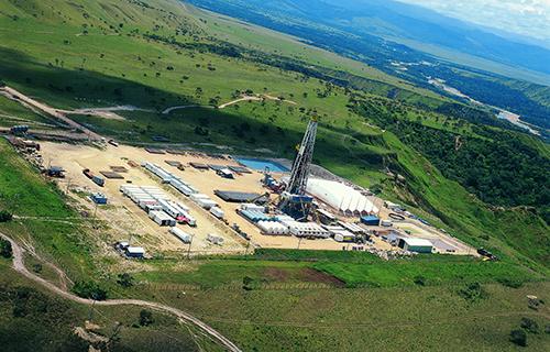 Campo de Petróleo Castilla La Nueva en el Meta.