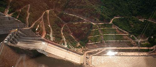 Hidroeléctrica de Sogamoso.