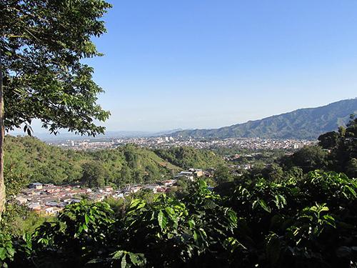 Panorámica de la ciudad de Ibagué.