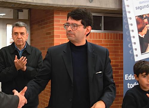 El Rector de la Universidad de Ibagué, Alfonso Reyes Alvarado.