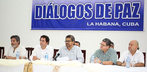 Delegación de Paz de las Farc en La Habana, Cuba.