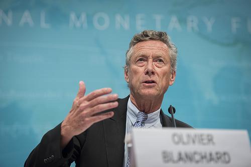 El economista jefe del Fondo Monetario Internacional Olivier Blanchard.