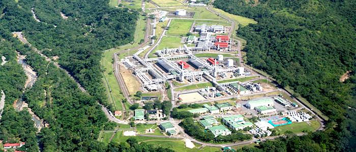 Planta de Gas Cupiagua en el departamento de Casanare.