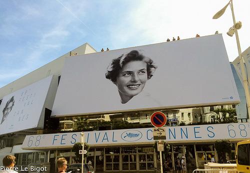 Imagen oficial del 68vo Festival de Cannes.