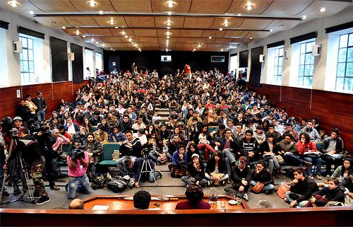 Cátedra Construyendo Paz en la Facultad de Derecho de la Universidad Nacional, Sede Bogotá.