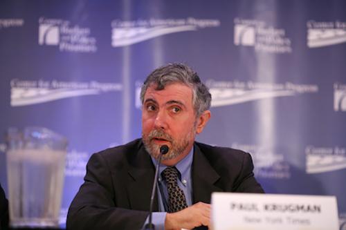 El economista norte-americano Paul Krugman.