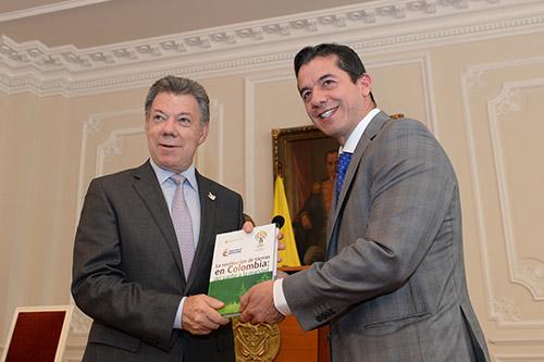El Presidente Santos presenta el balance la iniciativa de Restitución de tierras del Gobierno Nacional.