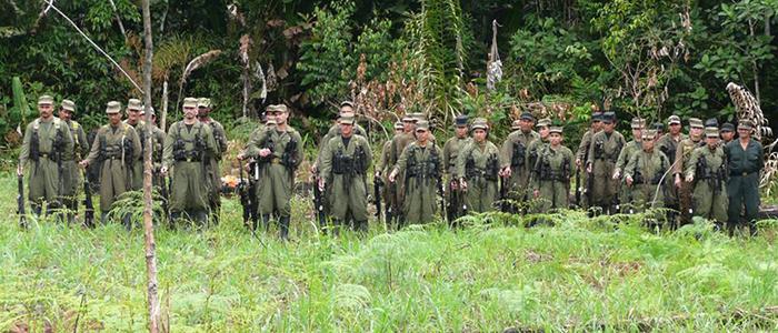 Guerrilleros del Frente 33 en el Magdalena Medio.