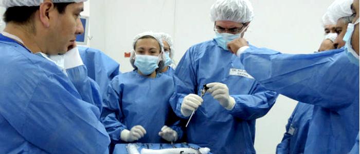Centro de investigación y entrenamiento de especialistas de medicina en cirugía mínima invasiva.