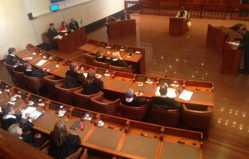 Audiencia del Consejo de Estado.