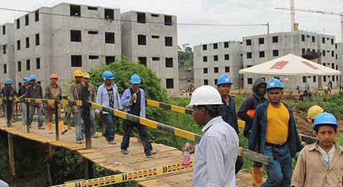 Construcción de proyecto de viviendas gratis en Montería