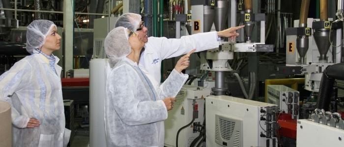 Fábrica Plastilene de empaques plásticos para alimentos.