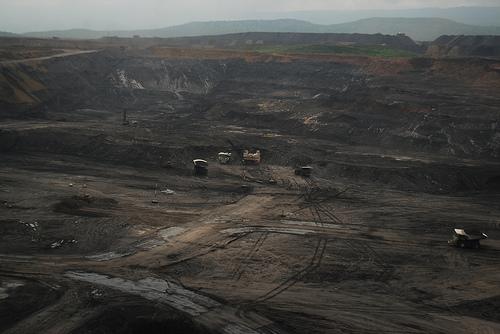 Mina de carbón El Cerrejón en La Guajira.