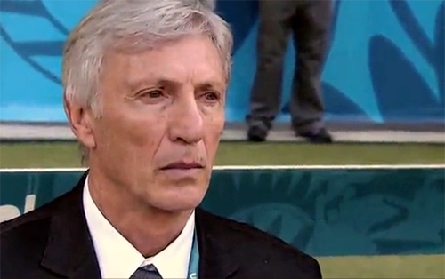 El Director Técnico de la Selección Colombia, José Pékerman.