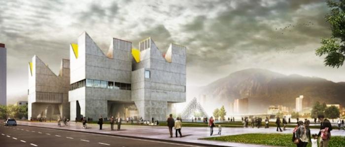 Renders del proyecto ganador del Museo Nacional de la Memoria.