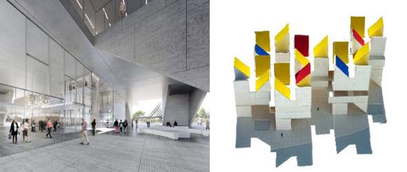 Proyecto ganador del concurso arquitectónico del Museo Nacional de la Memoria.