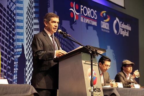 El Candidato a la Alcaldía de Bogotá por el Partido Liberal, Rafael Pardo.