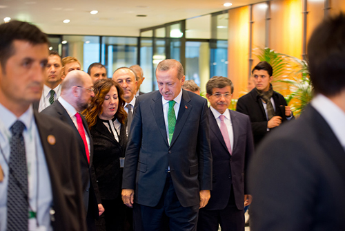 El Primer Ministro turco Recep Tayyip Erdoğan.