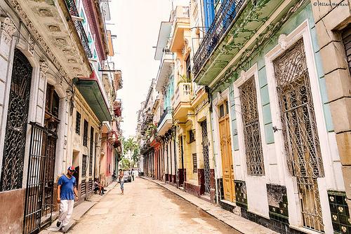 Callejón de La Habana Vieja, Cuba.