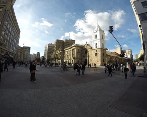 Día seco y soleado en Bogotá.