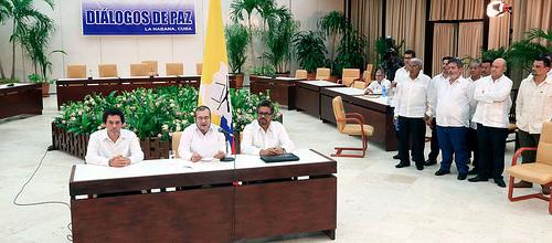 Delegación de Paz de las FARC.