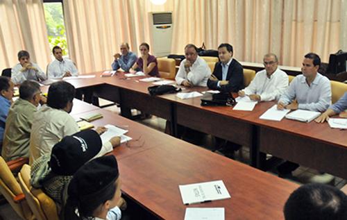 Las delegaciones de Paz del Gobierno Nacional y las FARC en La Habana, Cuba.