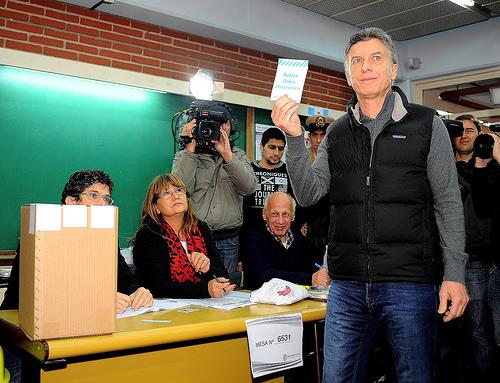 El candidato a la Presidencia de Argentina, Mauricio Macri.