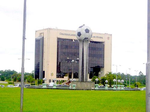 Sede de la Confederación Sudamericana de Fútbol en Paraguay.