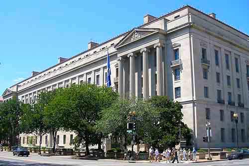 Departamento de Justicia de los Estados Unidos en Washington D. C.