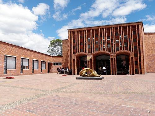 La Facultad de Ciencias Económicas de la Universidad Nacional de Colombia, sede Bogotá.