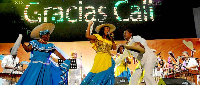 El Festival Petronio Álvarez, donde son visibilizadas la música de marimba y los cantos tradicionales.