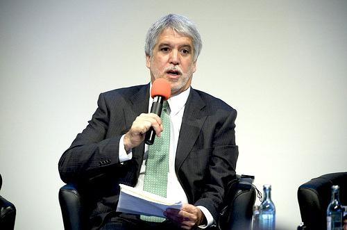 El Alcalde Mayor Enrique Peñalosa.