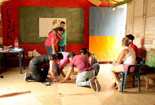 Actividades de la mesa LGBTI de la Comuna 8 de Medellín.