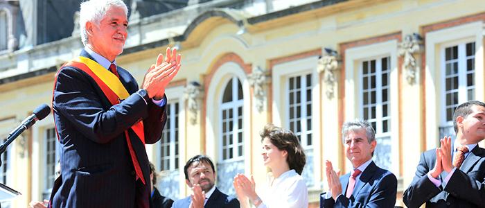 El Alcalde Mayor, Enrique Peñalosa.