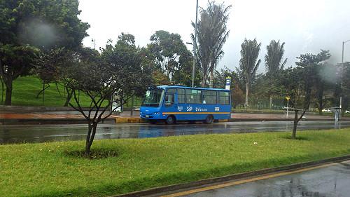 Bus del SITP en Bogotá.