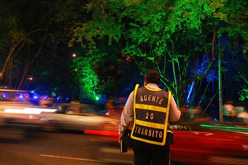 Operativo para dar con conductores en estado de embriaguez en la ciudad de Medellín.